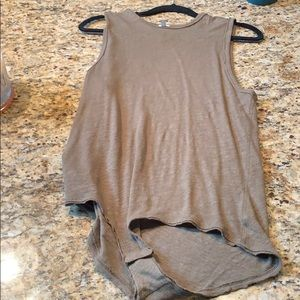 Free People Tank (Army Green color)
